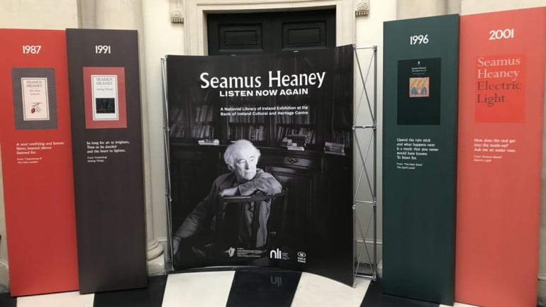 Seamus Heaney: Listen Now Again Featured Photo | Cliste!